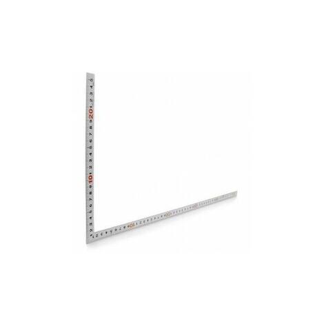 Shinwa: Equerre de charpentier inox 500 x 250 mm ep : 2 mm
