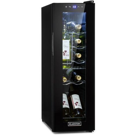 "main image of ""Shiraz 12 Slim Wine Refrigerator 32l / 12Fl. Touch Control Panel 85W 5-18"""
