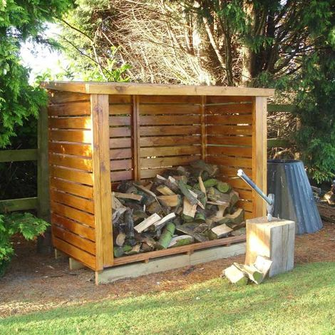 Shire 6' x 3' Large Heavy Duty Dip Treated Log Store
