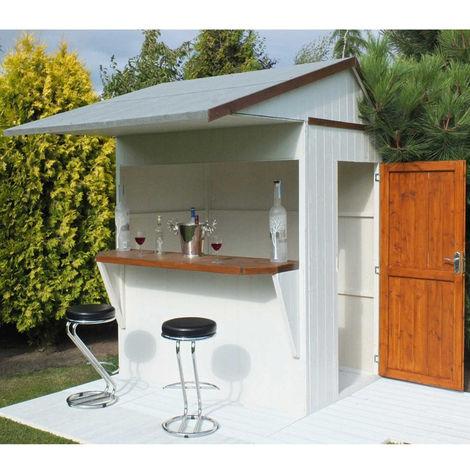 "main image of ""Shire 6 x 4 Single Door Garden Bar and Store"""