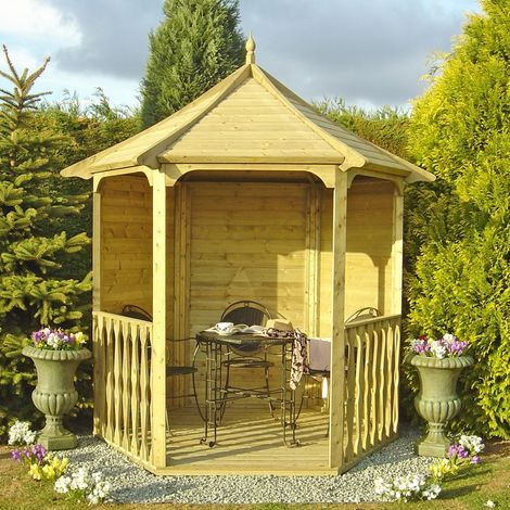 """main image of """"Shire Arbour Garden Arch Seat Approx 6 x 7 Feet"""""""