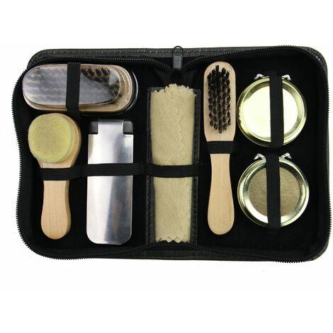 "main image of ""Shoe Care Kit | Pukkr - Black"""