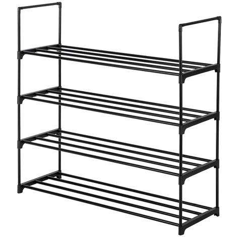 Shoe Rack Storage Shelves Hold up to 20 Pairs of Shoes 92 x 30 x 85cm