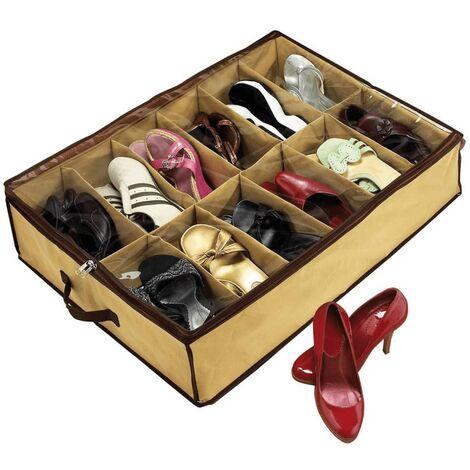 Shoes Under Shoe Organiser Brown SHU001