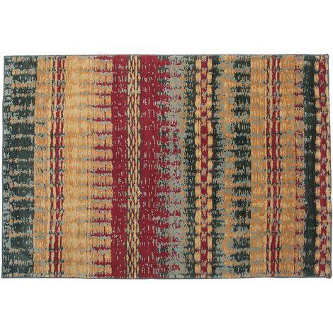 Short Pile Area Rug 140 x 200 cm Multicolour MARMARIS