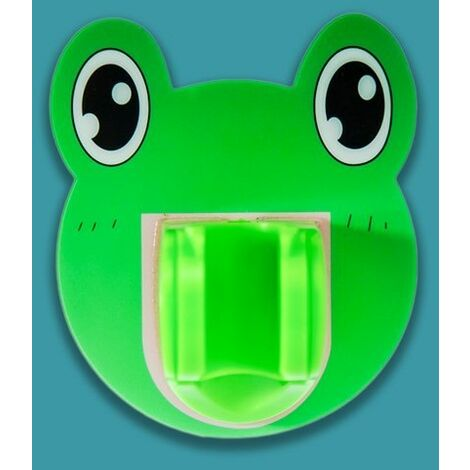 Shower apple Bathroom Fixed Shower Frame Creative Without Perforation, Small Frog