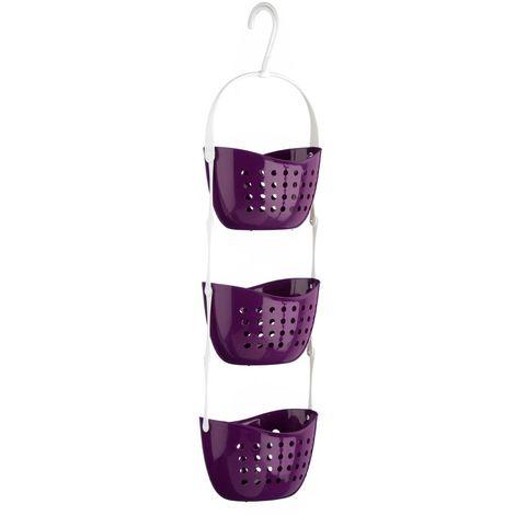 Shower Caddy,3 Tier,Purple PP