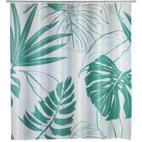 Shower curtain Brasil green WENKO