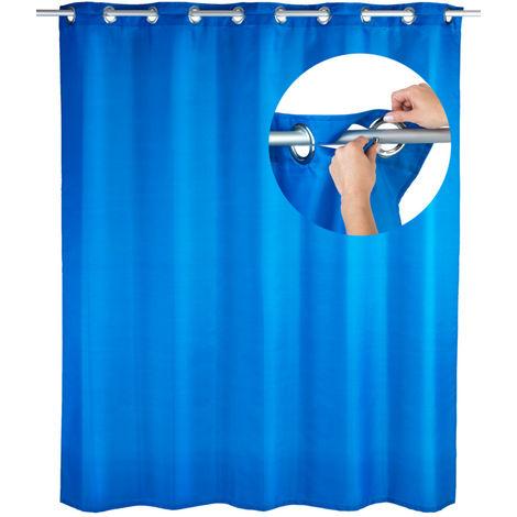 Shower curtain Comfort Flex Blue WENKO