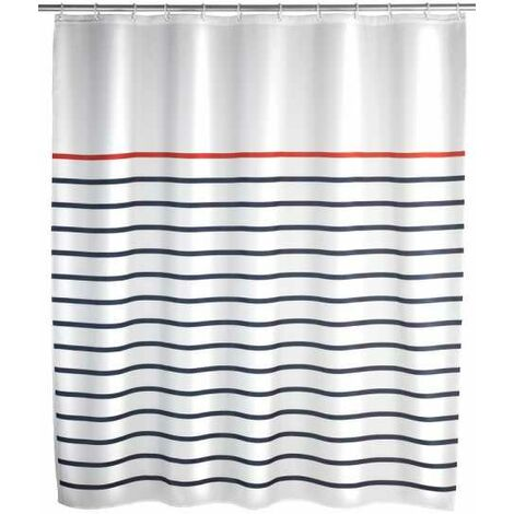 Shower curtain Marine White WENKO