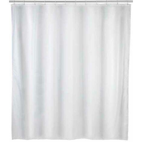 Shower curtain Plain white WENKO