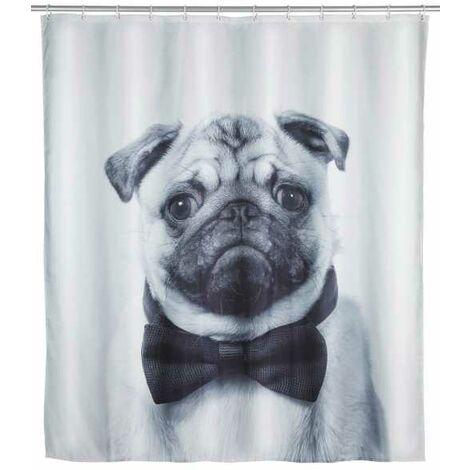 Shower curtain Pugy WENKO