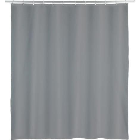 Shower curtain Punto, grey WENKO