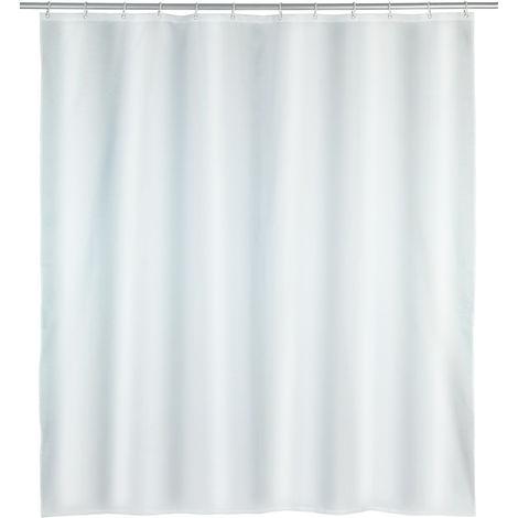 Shower curtain Punto, white WENKO