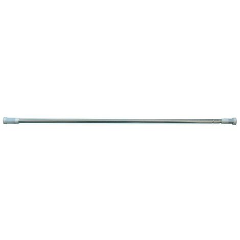 Shower Curtain Rod 1400-2600mm - Chrome