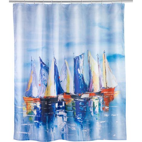 Shower curtain Sailing WENKO