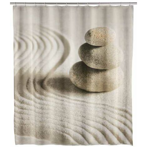Shower curtain Sand and Stone WENKO