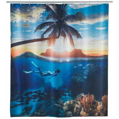 Shower curtain Underwater WENKO