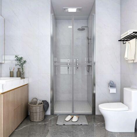Shower Door Clear ESG 91x190 cm