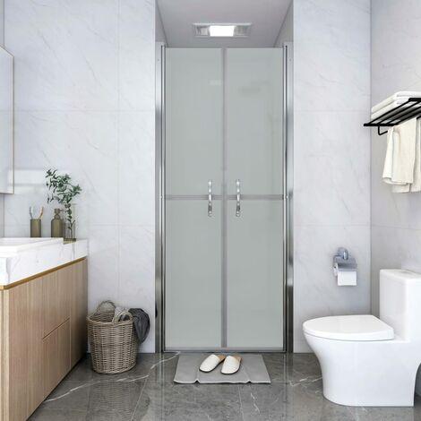 Shower Door Frosted ESG 91x190 cm