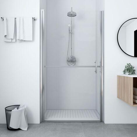 Shower Door Tempered Glass 81x195 cm
