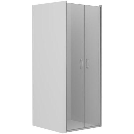 Shower Doors Clear ESG 75x185 cm