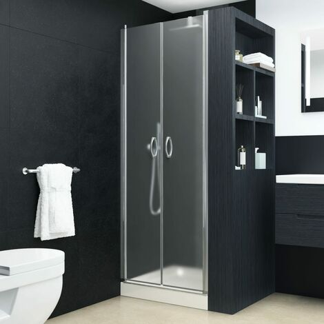 Shower Doors Frosted ESG 80x185 cm