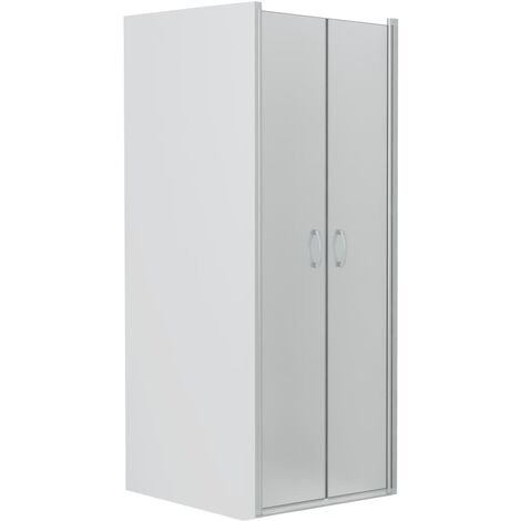 Shower Doors Frosted ESG 85x185 cm