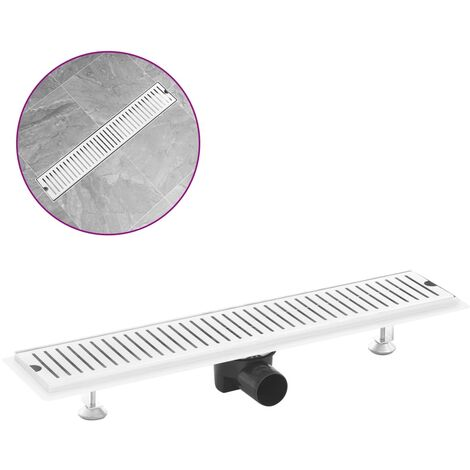Shower Drain Vents 63x14 cm Stainless Steel