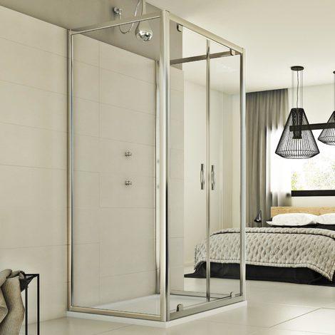 Shower Enclosure mod. Cristal Trio 2 Doors