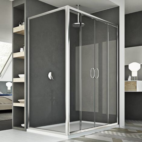 Shower Enclosure mod. Replay Duo 2 Doors