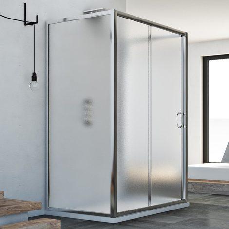 Shower enclosure mod. Replay Trio 1 Door
