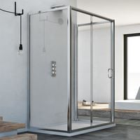Shower enclosure mod. Replay Trio 1 Door