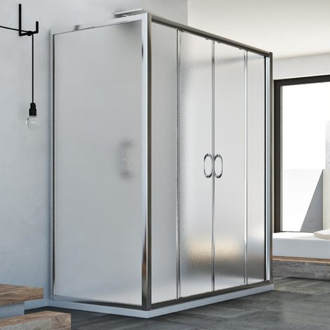 Shower Enclosure mod. Replay Trio 2 Doors