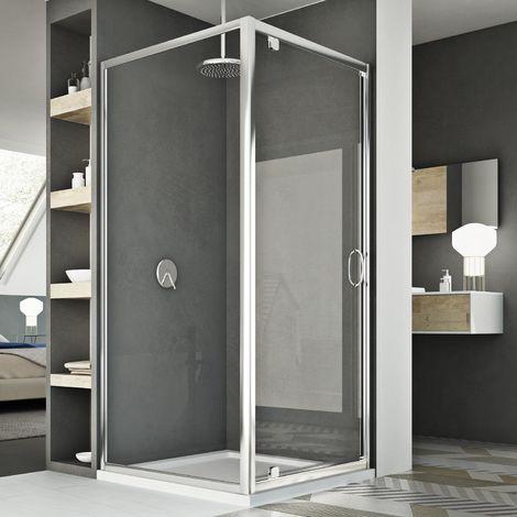Shower Enclosure mod. Sintesi Duo 1 Door