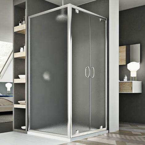 Shower enclosure mod. Sintesi Duo 2 Doors