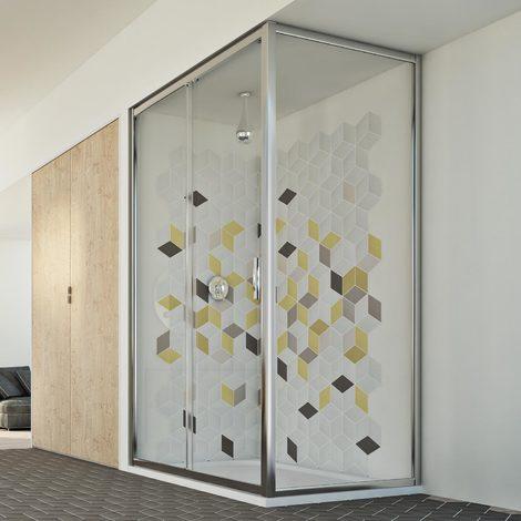 Shower Enclosure mod. Young Duo 1 Door