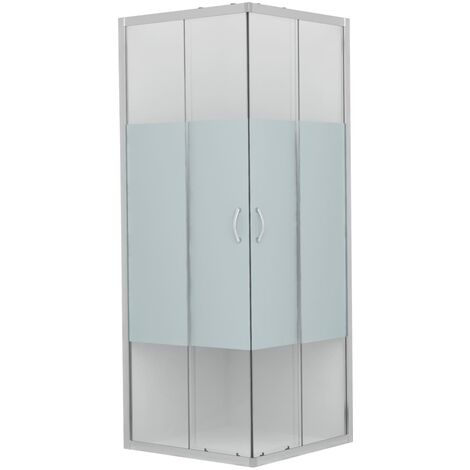 Shower Enclosure Safety Glass 80x80x185 cm
