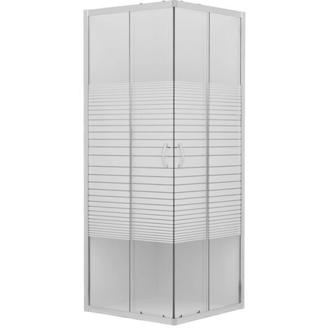 Shower Enclosure Safety Glass 90x80x180 cm