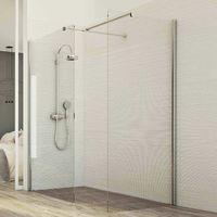 Shower enclosure screen mod. Walk In Corner