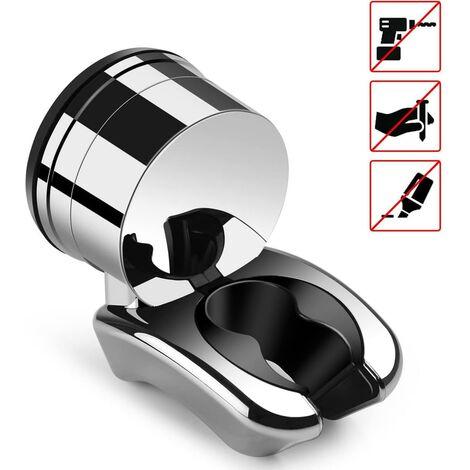 "main image of ""Shower head holder shower head holder shower holder for hand shower shower head, adjustable shower holder 3kg"""