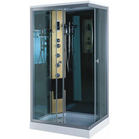 Shower Jacuzzi Whirlpool NEW Model Portofino 100 X 70 cm gold column