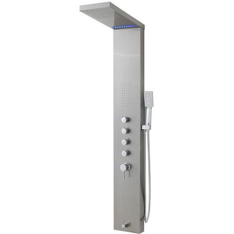 Shower panel Eldorado LED shower column mixer shower mixer rain shower mixer tap
