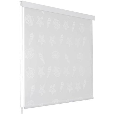 Shower Roller Blind 100x240 cm Sea Star