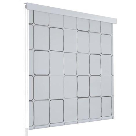 Shower Roller Blind 100x240 cm Square