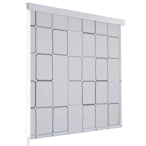 Shower Roller Blind 120x240 cm Square