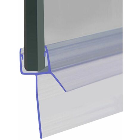 Shower Seal for Screens, Doors or Panels | Fits 4, 5 or 6mm Glass | Seals 30-35mm Gaps | SEAL041 (80cm) - Clear