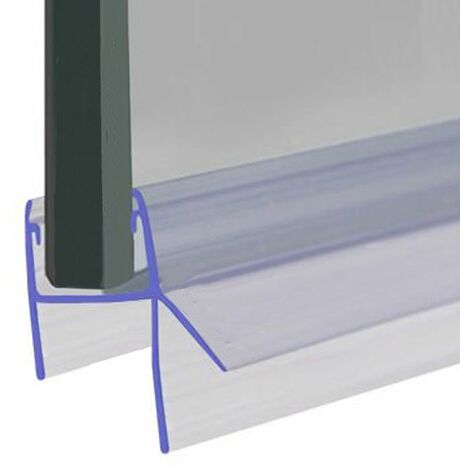 Shower Seal for Screens, Doors or Panels | Fits 8, 9 or 10mm Glass | Seals 7-12mm Gaps | SEAL050 (90cm) - Clear