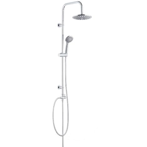 Shower set Garo without tap Rain Shower Shower System Shower Panel Chrome