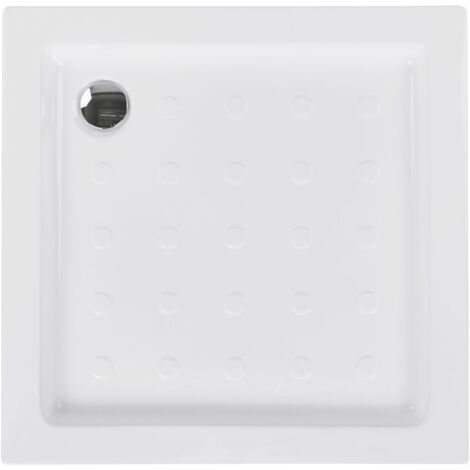 Shower Tray 80 x 80 x 7 cm White ESTELI